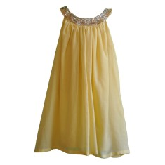 Lucia dress in banana