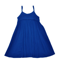 Tilly dress in dazzling blue