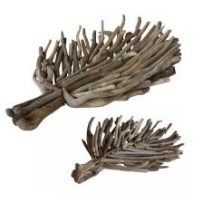 Driftwood leaf tray