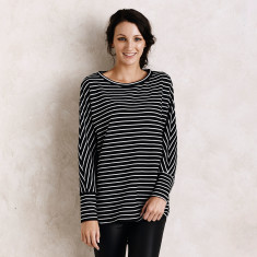 Striped Sloane Top