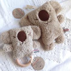 Koala teething rattle & music toy set