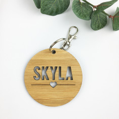 Round Personalised Bag Tag