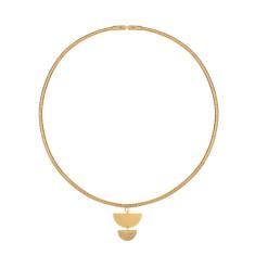 Salinas gold choker necklace