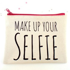 Make up your selfie makeup bag