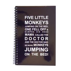 Five little monkeys journal