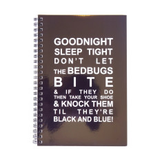 Goodnight sleep tight journal