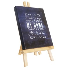 What I love most about home chalkboard canvas