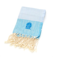 Hand towel in blue
