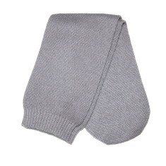 Sleep socks in grey cashmere