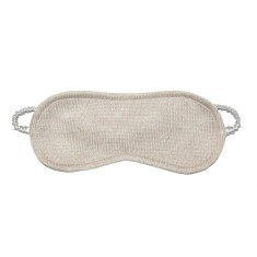 Cashmere/silk eye mask