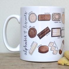 Biscuit alphabet mug