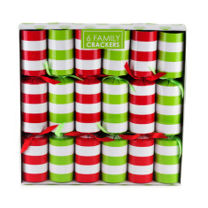 Christmas crackers in stripes