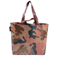 Shopper bag in camo