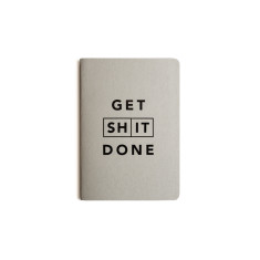 Get Sh*t Done Classic Notebook A6 - Grey