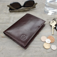 Personalised Salerno Leather Wallet