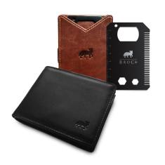 The Anti-Skim Wallet & BroCard Mk.II Pack