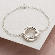 Personalised Russian Ring Bracelet