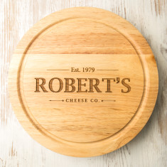 Personalised Vintage Inspired Cheese Board Set