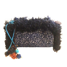 Holly ink clutch in midnight