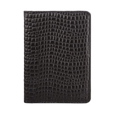 The Dimaro Croco Luxury Italian Zipped Leather Document Folder