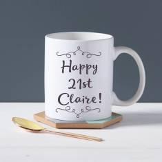 Personalised Birthday Mug