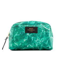 Woouf Beauty & Makeup Case - Green Marble