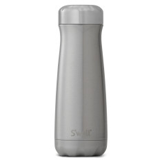 S'Well traveller shimmer collection insulated bottle silver lining (multiple sizes)
