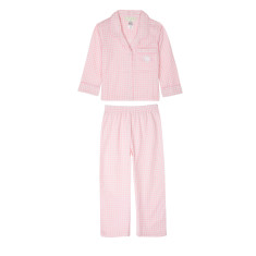 Girls Houndstooth Print PJ's