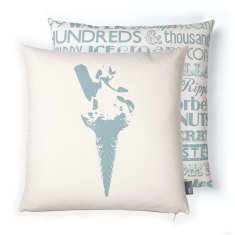 Ice cream delight cushion cover
