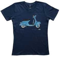 Vespa Scooter Ladies t-shirt