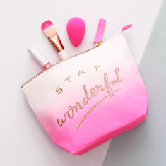 Stay Wonderful Ombre Makeup Bag