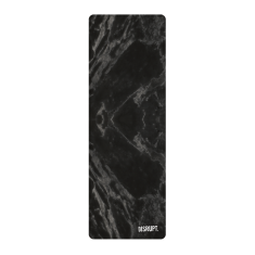 Black Marble Yoga Mat