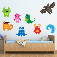 Scary Monster Wall Stickers
