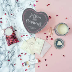 Personalised Valentine's Day In A Box Survival Kit