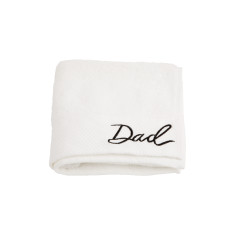 Dad Embroidered Hand Towel
