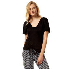 Bellini top in black