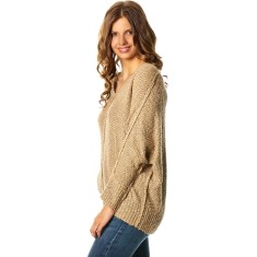 Cape Cod sweater in biscuit
