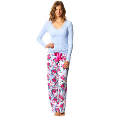 Pink poppy PJ pants