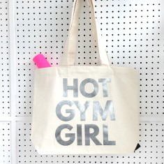 Hot Gym Girl Tote