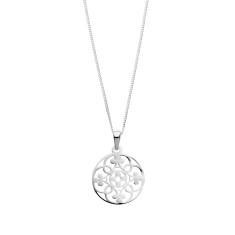 Filagree charm necklace