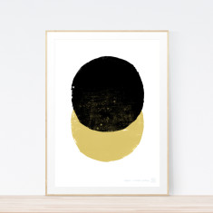 Eclipse Mustard art print