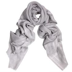 Phantom Wool Silk Lurex Stripe Scarf/Wrap (various colours)
