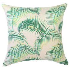 Luxe Palm Natural Cushion (various sizes)