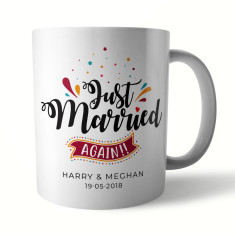 Just Married... Again Ceramic Mug