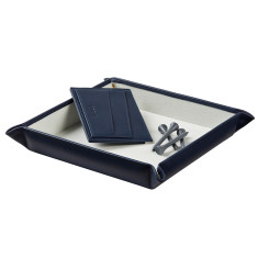 Large Leather Valet Tray for Him