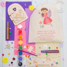 Personlised Make Your Own Fairy Door Kit