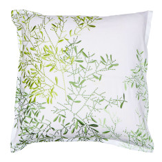 Pascale Green European pillowcase
