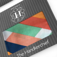 Modern Triangles Hankies (set of 2)
