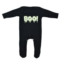 Boo! Halloween Baby Romper Sleepsuit