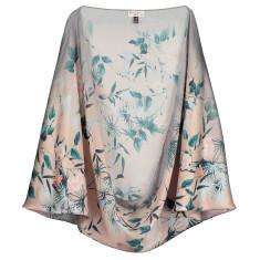 nooki design lexi floral print silk cape
